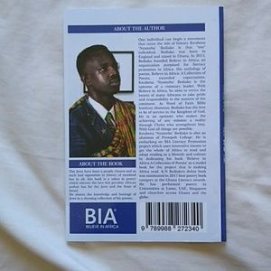 BIA Accessories - Poetry book published by BIA